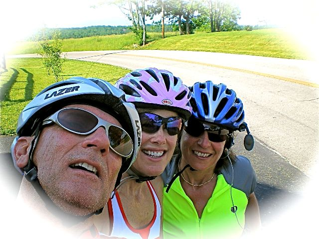 Bruce, Fran, and Laurie conquer Grizzard!
