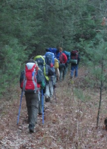 Hiking in the Red River Gorge